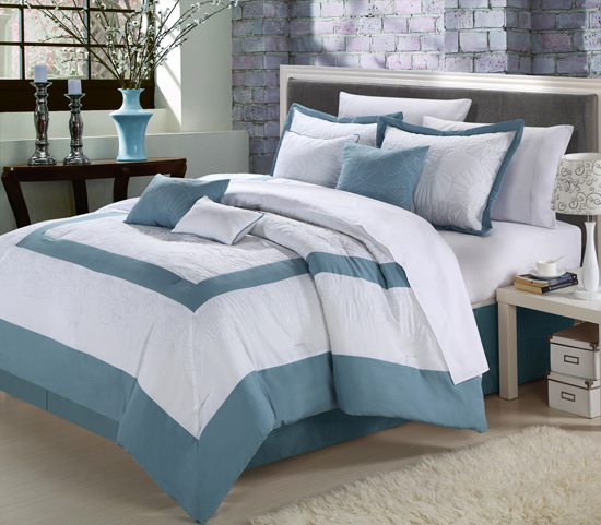 kam home 8 piece comforter sets