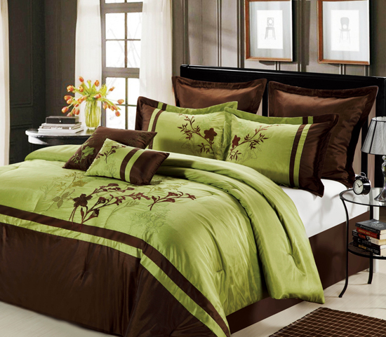 Chic Home Eight Piece Comforter Sets