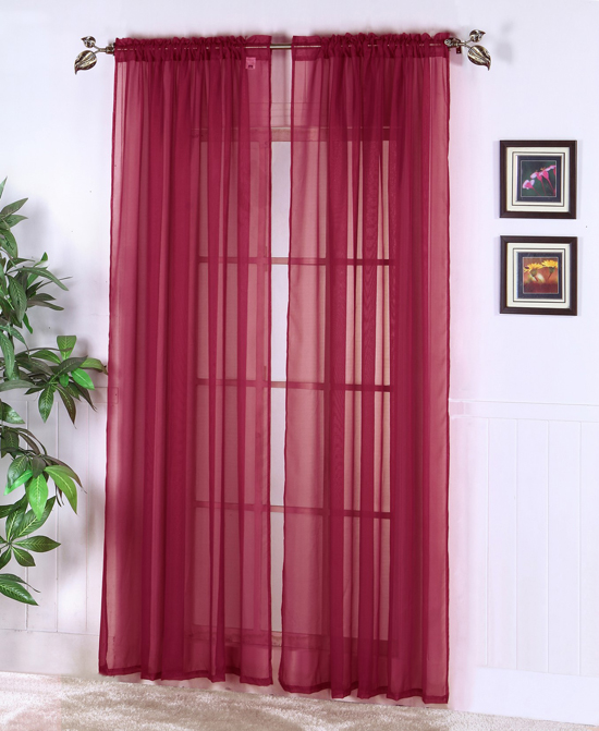 Sears Sheer Curtain Panels Sears Window Curtains