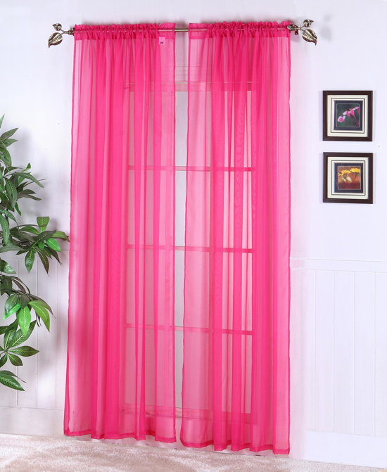 Light Pink Curtains Target: Sheer Abby Curtain Colors