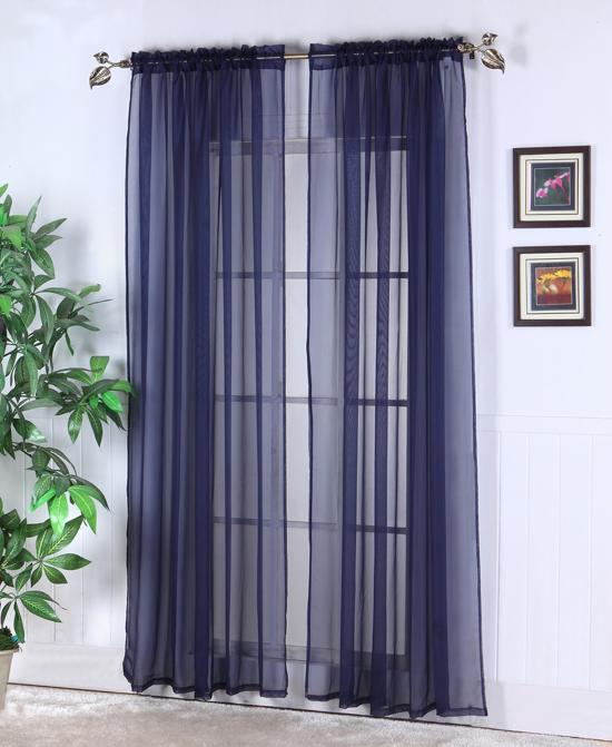 Sears Sheer Curtain Panels Amazon Sheer Curtain Panels