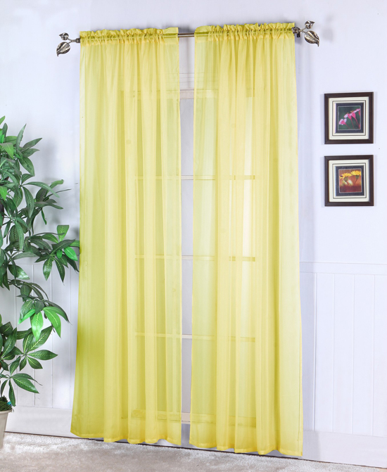 Sheer Yellow Curtains Target Burnt Orange Sheer Curtains