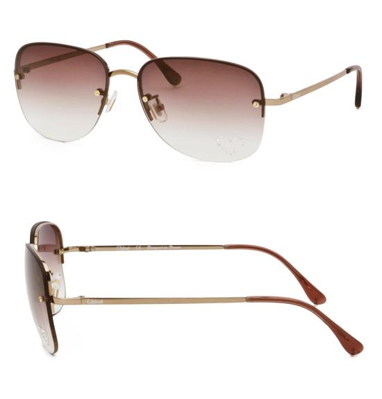 Chloe 79s Gold Frame Sunglasses : Chloe Women s Sunglasses