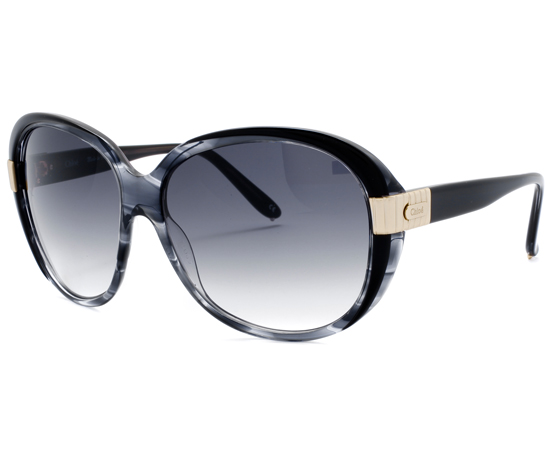 fashion glass frames obf4  Women's Sally Sunglasses with Gray Horn Plastic Frames CL2211-C01