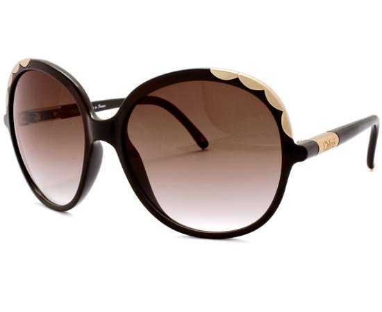 Chloe Gold Frame Sunglasses : Unisex or Womens Chloe Sunglasses