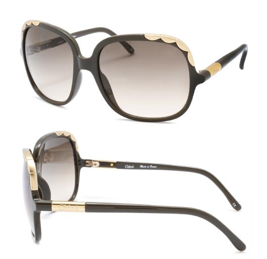 Chloe Gold Frame Sunglasses : Chloe Women s Sunglasses