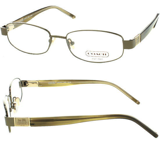 Coach Metal Eyeglass Frames : Women s Coach Optical Frames