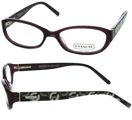 Coach Eyeglass Frames Purple : Women s Coach Optical Frames