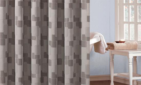 patterned shower curtains kallista geometric shower curtain beige ...