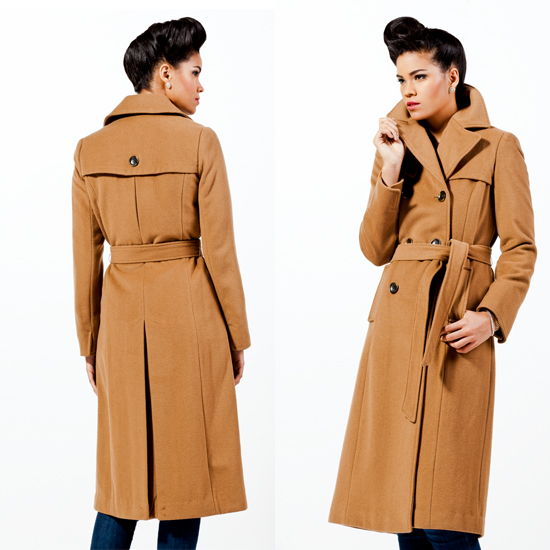 Women S Wool Trench Coat Jacketin