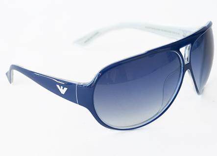 White Frame Armani Glasses : Emporio Armani Sunglasses