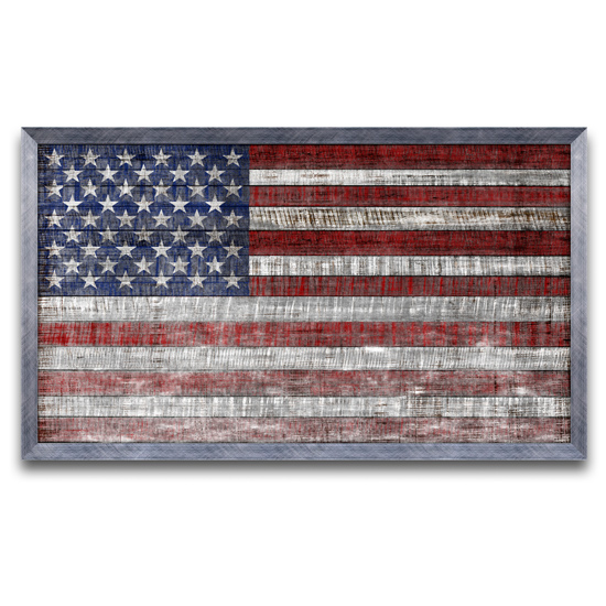 Rustic american flag prints with framing option for American frame coupon code