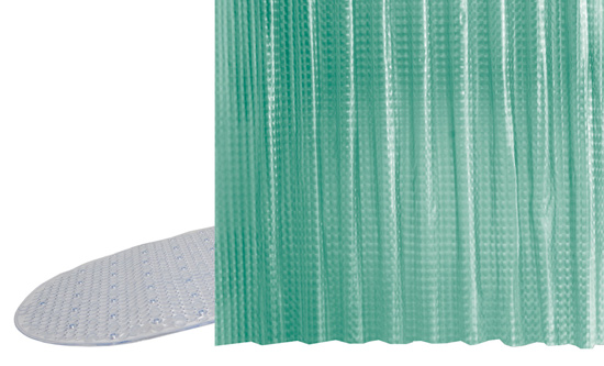 Green Shower Curtain Target