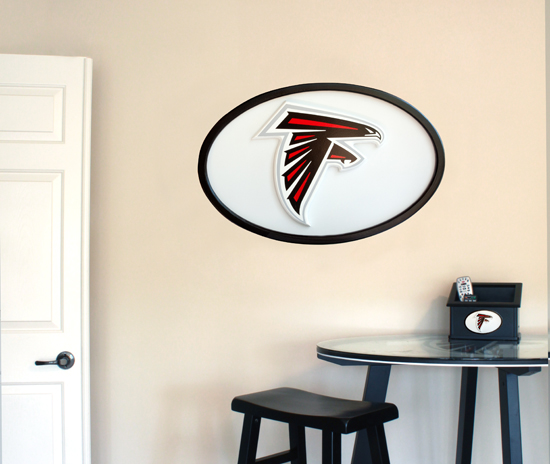 NFL Logo Wall Art