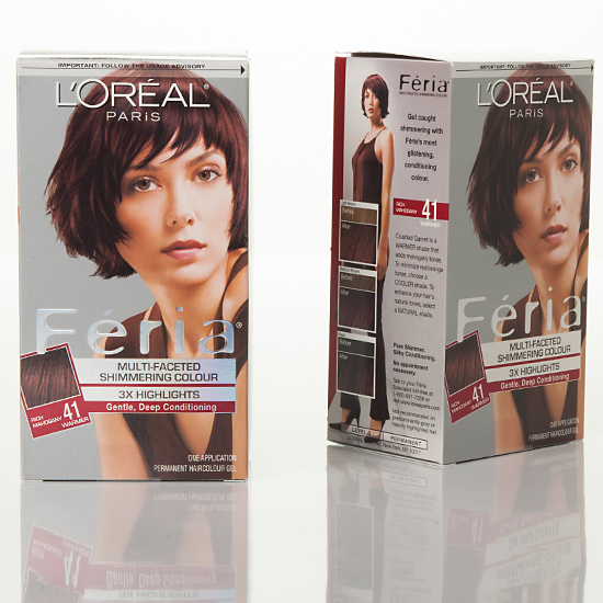 l�oreal feria hair color