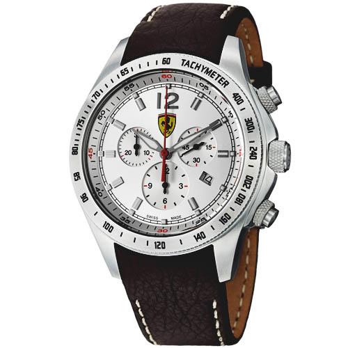 watches uk watch amazon silicone and quartz classic dp scuderia mens strap display co analogue ferrari