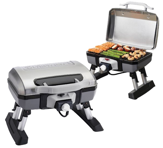 Portable Electric Grill ~ Cuisinart portable grills