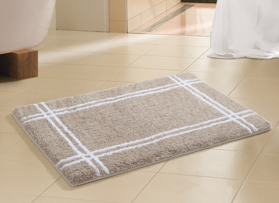 Microfiber bathroom rugs - Two Piece Microfiber And Memory Foam Bathmat Sets
