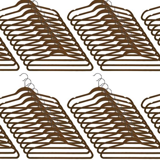 Closet Complete Ultra Thin No Slip Velvet Suit Hangers
