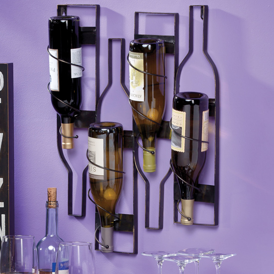 Wine bottle holders - Wire wine bottle carrier ...