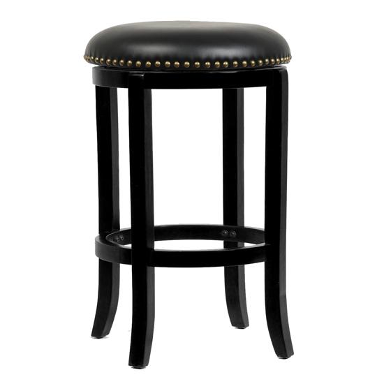 Boraam Solid Wood Swivel Bar Stools : 852896336240 24 Cordova Swivel Stool Black from www.groupon.com size 550 x 550 jpeg 52kB