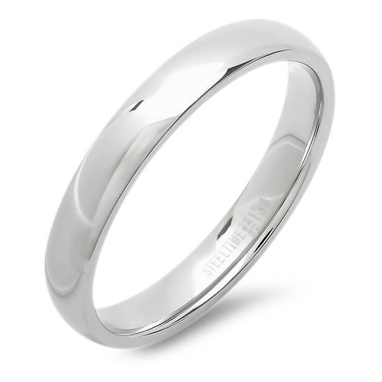 Stainless Steel Men S And Women S Wedding Bands