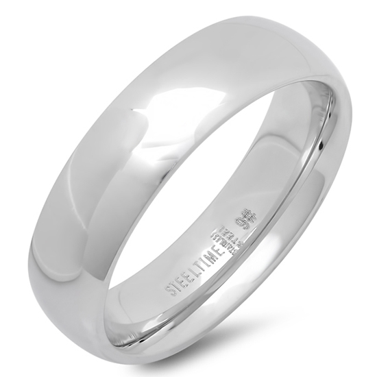 Stainless Steel Mens And Womens Wedding Bands