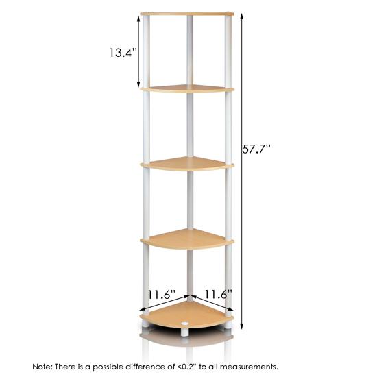 Corner Exhibition Stands Price : Turn n tube tier corner display rack