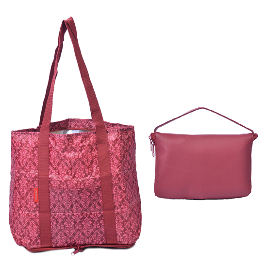 Sachi Insulated Fold N Go Market Tote 2 Pack