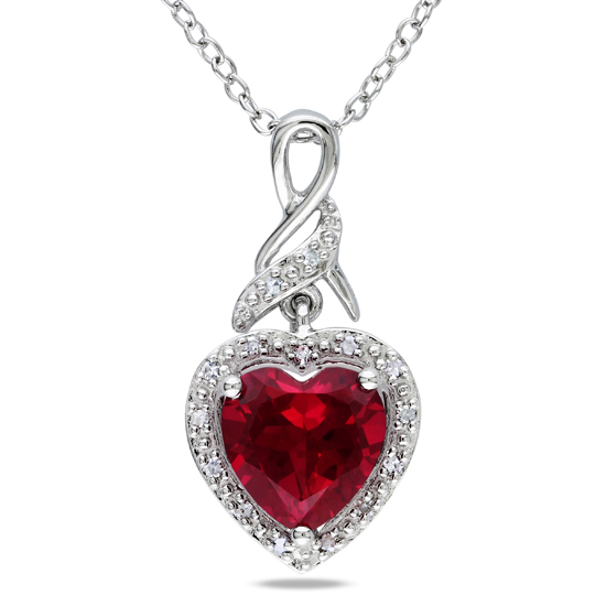 Curiouser and curiouser! § Dennis Creevey Silver_Created_Ruby_Heart_Pendant_with_Chain_FC071L-1VMF_0007500817763