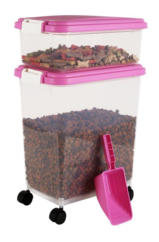 3 piece pet food storage container set for 3 pieces cuisine