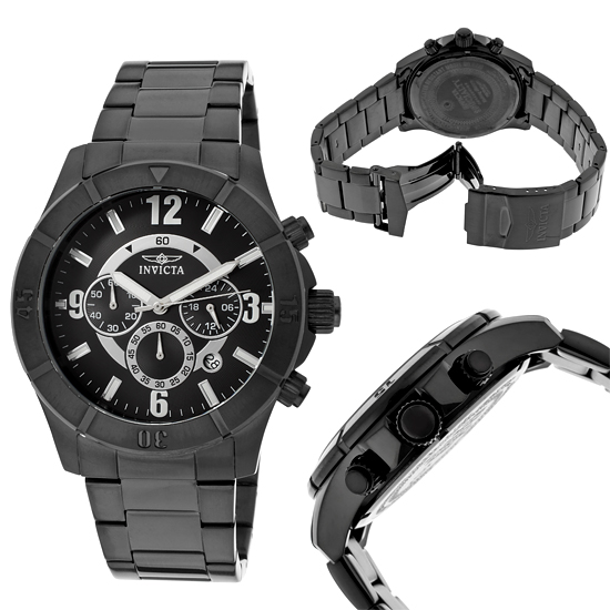 men s and women s invicta watches 75 for invicta men s specialty watch black band black dial black ion bezel invicta 1425 595 list price