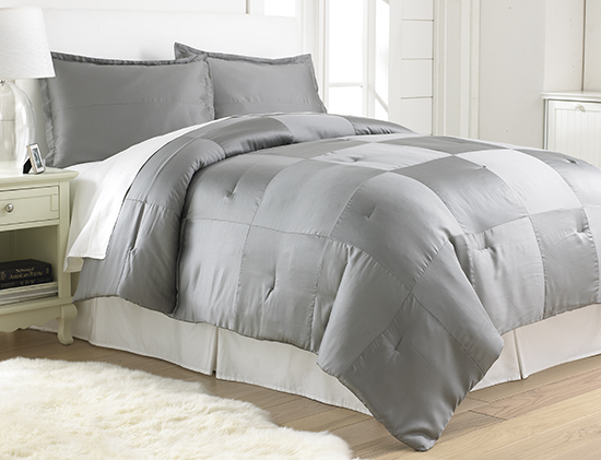 hotel design 800 thread count 3 piece queen comforter set