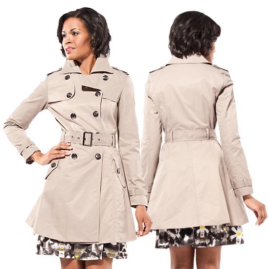 Jessica Simpson Trench Coats