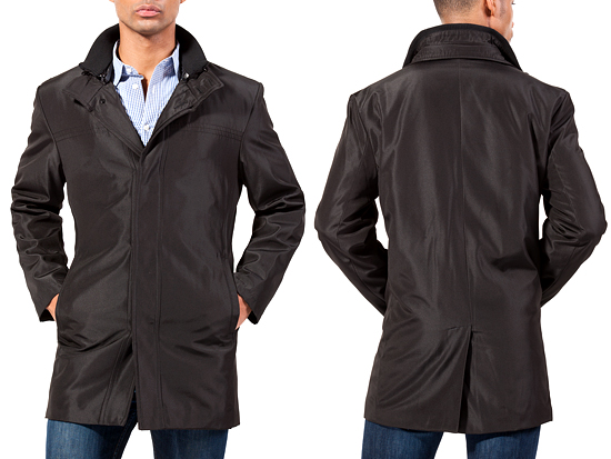 Kenneth Cole Down and Poly Bonded Coats