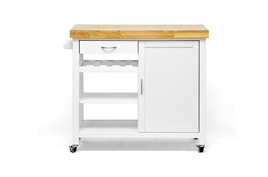 White Kitchen Island Cart – Quicua.Com