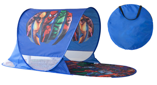 Dark blue Marvel Heroes pop-up activity tent  sc 1 st  Groupon & Kids Activity Mat or Pop-Up Tent
