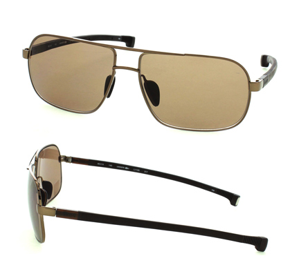 49 for unisex gold metal aviator frames with brown lenses l113s317 213 list price