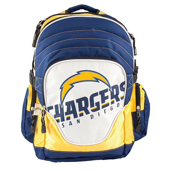 San Diego Chargers Employment: NFL Premium Backpack