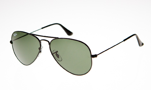 Ray Ban Sunglasses Price  Large Metal Aviator in Black w 15XLT Lens RB3025.W3235 805289004806