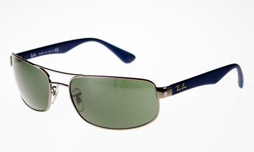 pilot ray ban esls  Metal Pilot in Gunmetal with Crystal Green Lenses $145 List Price
