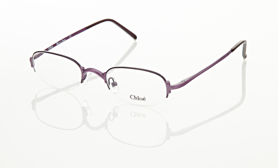 chlo optical glasses metal semirimless framepurple cl1131c0447 21 206 list price