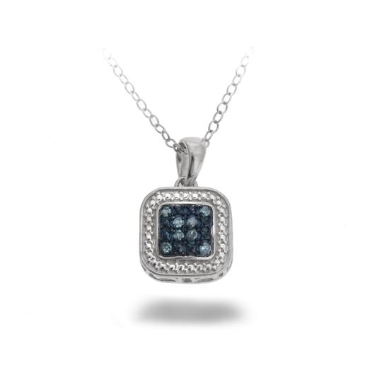 Nicolette black or blue diamond earrings or pendant blue diamond pendant necklace gop2556w bludia aloadofball Image collections