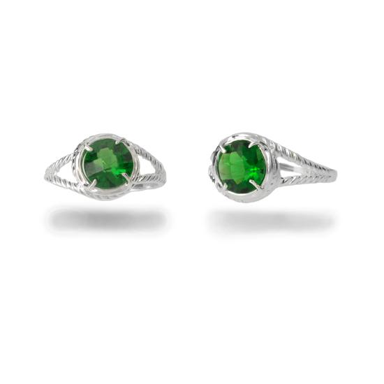 emerald cubic zirconia jewelry