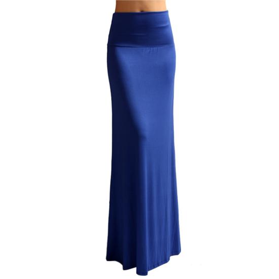 smooth fashion maxi skirt