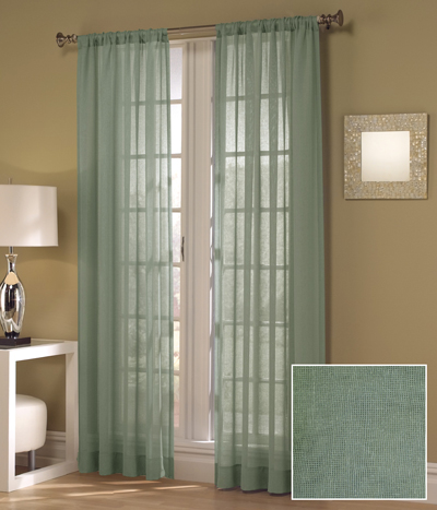 Set of Two Maytex Window Curtains