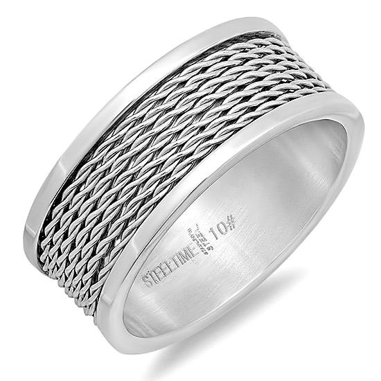 Steeltime Stainless Steel Rings