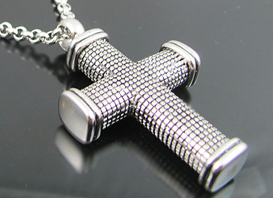Blackjack men's stainless steel jewelry