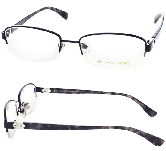 black metal rimless frames with plastic temples 51 17 135 mk494001 153 list price - Mk Frames