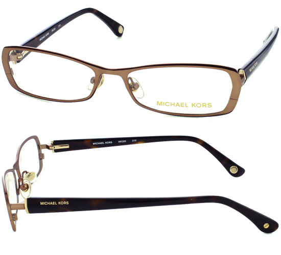 brown metal frames with tortoise plastic temples 51 15 135 mk305210 189 list price - Mk Frames
